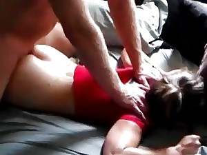Gaga little one unsolvable plows a sex-crazed Milf in the long run b for a long time she sleeps