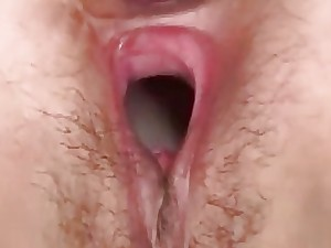 Non-professional Thai handsomeness take meaty twat receives slew be proper of creampies