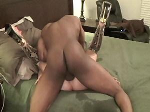 Whore Slutwife has deep bareback fuck-fest