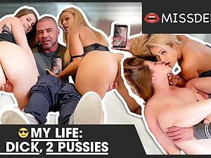 Wife cheats on me with woman. BOTH FUCKED! MISSDEEP.com