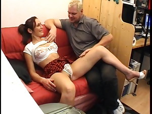 Notgeiler Dieter hat private casting fick couch 1998 retro