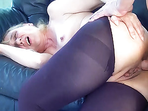 very first anal for 85 years elder granny