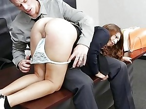 Schoolgirl grabbed coupled with fucked hard by of age sponger