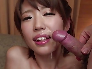 JAPAN HD Muddied Japanese Teenage cums with an increment of creams